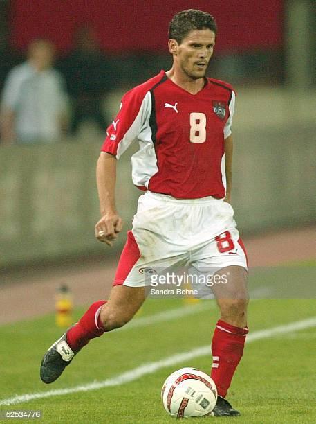 Fussball WM Qualifikation 2004 Wien Oesterreich England 22 Dietmar KUEHBAUER / AUT 040904