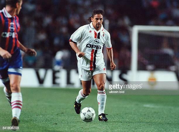 Fussballer Italien Spieler des AC Mailand in Aktion