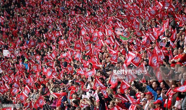 Fussballfans FC Bayern Fussball Bundesliga : FC Bayern München - FC Augsburg 11.5.2013 Allianz Arena