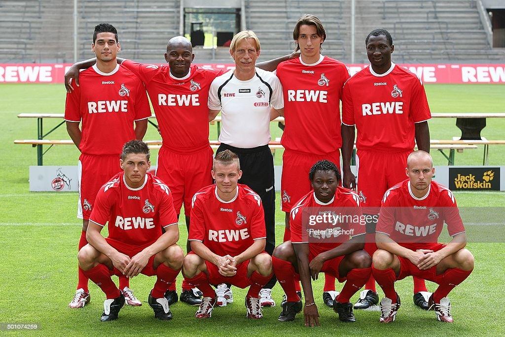Fussball Mannschaft Fc Koln Rhein Engerie Stadion Koln