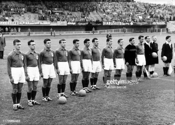 Fussball Wm 1954 Pictures And Photos Getty Images