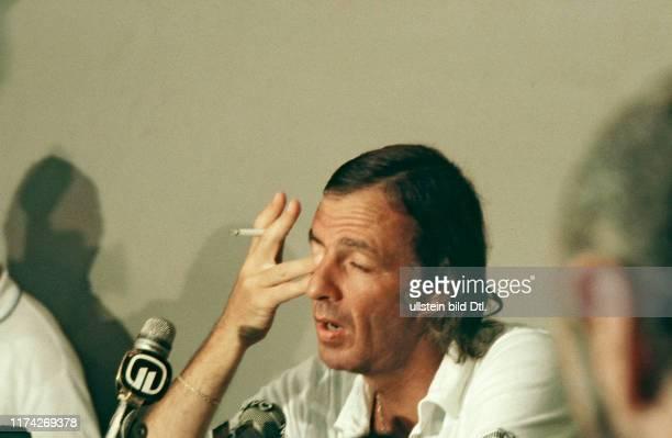 Fussball-WM in Spanien 1982: Argentiniens Nationaltrainer Menotti