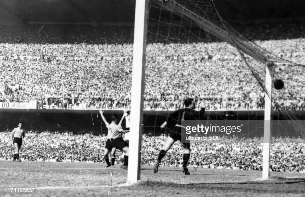 Fussball-WM-Final 1950: Brasilien - Uruguay