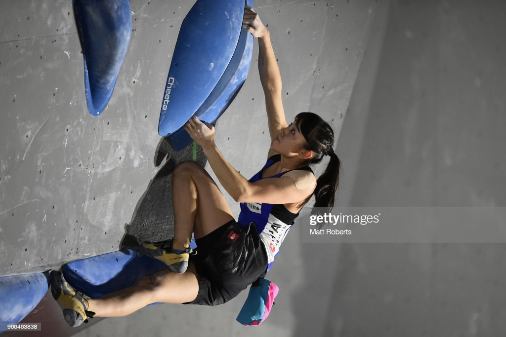 Sports Climbing Bouldering World Cup - Day 2 : ニュース写真