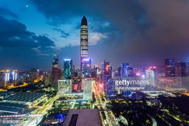 Futian CBD, shenzhen,china
