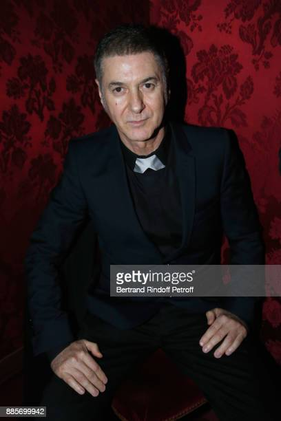 Futur Director of the 'Jeanne Moreau Foundation' singer Etienne Daho attends the Tribute to Actress Jeanne Moreau at Odeon Theatre on December 4 2017...