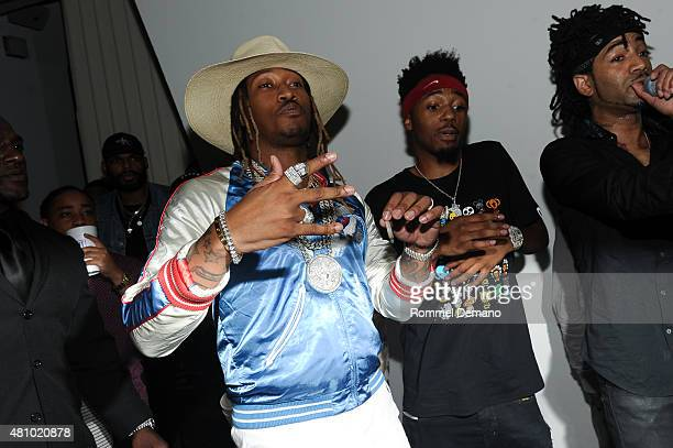 Future and Producer Metro Boomin attend LA Reid Presents A Night With Future at Three Sixty on July 16 2015 in New York City