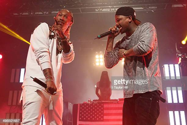 Future and YG perform in concert at Best Buy Theater on June 3 2014 in New York City