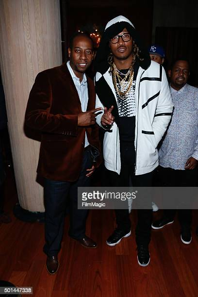 Future attends Epic Records Holiday Party 2015 at Butter Midtown on December 14 2015 in New York City