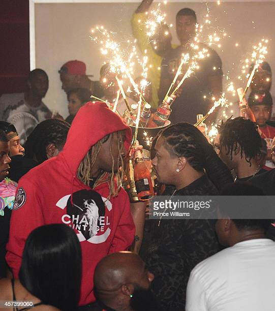Future attends Hip Hop Awards Grande Finale Hosted by Jeezy Future at Velvet Room on September 21 2014 in Chamblee Georgia