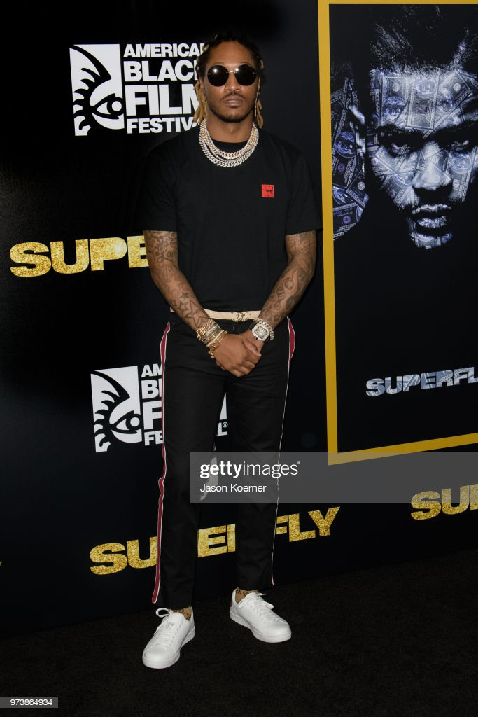 Future attends the opening night screening of 'Superfly' at the FIllmore Miami Beach during the 22nd Annual American Black Film Festival on June 13, 2018 in Miami Beach, Florida.