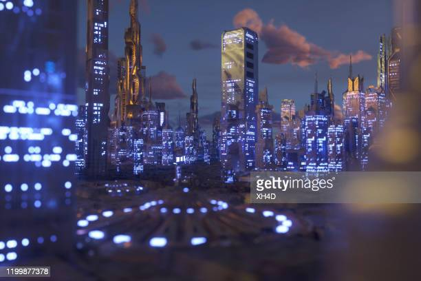 future city - smart stock pictures, royalty-free photos & images