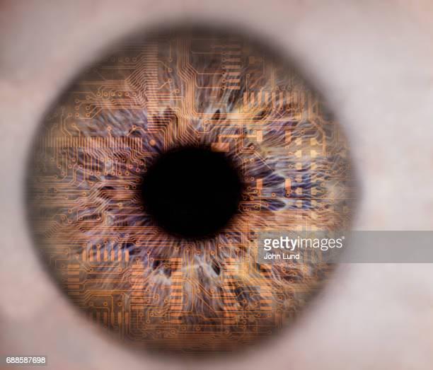 Future Computer Circuit Eye