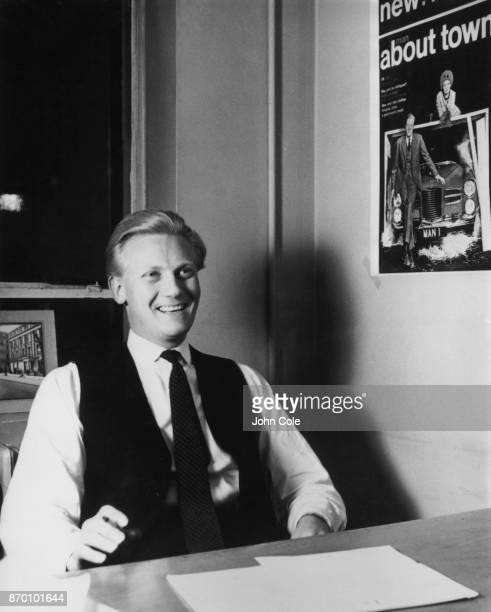 Future Conservative minister Michael Heseltine circa 1956