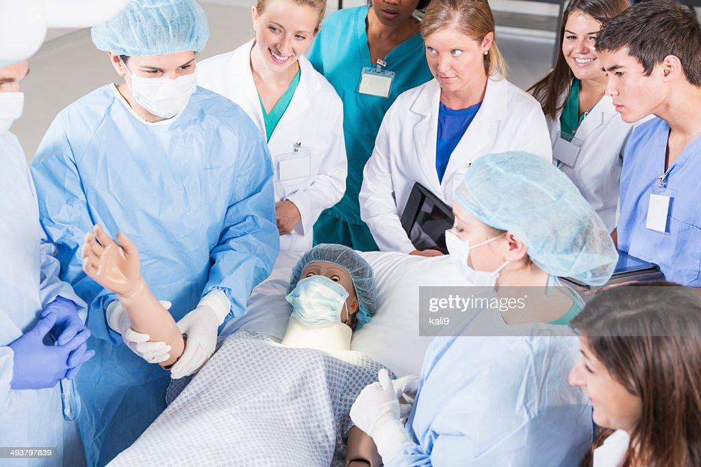 Future doctors : Stock Photo