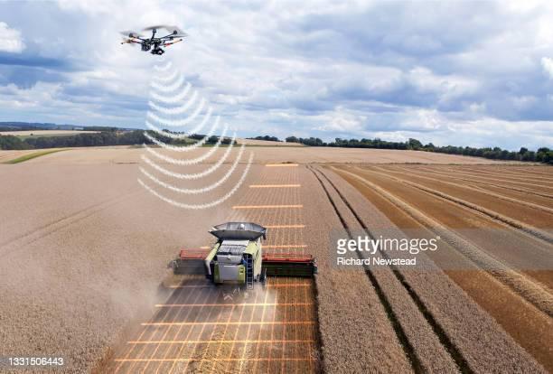future farming - autonomous technology stock pictures, royalty-free photos & images