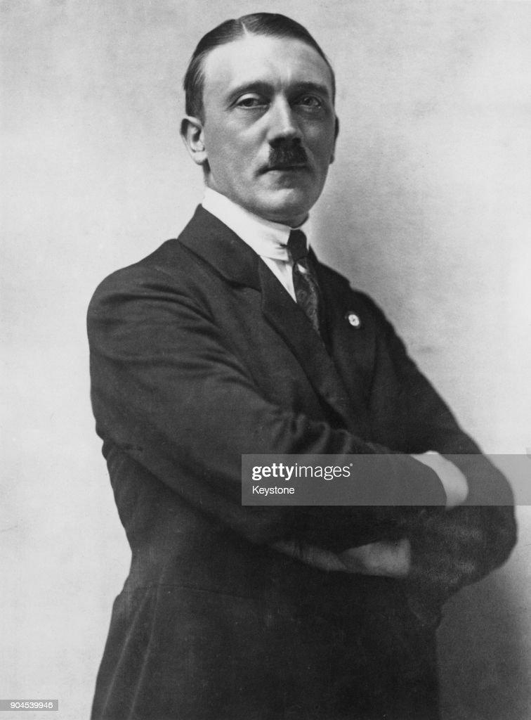 Future German Chancellor Adolf Hitler (1889 - 1945), 1921.