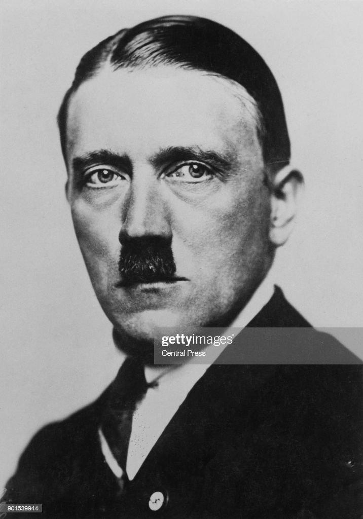 Future German Chancellor Adolf Hitler (1889 - 1945), 1932.
