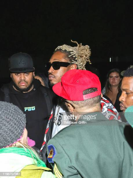 Future is seen on January 24, 2020 in Los Angeles, California.