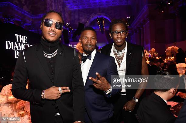 Future Jamie Foxx and Young Thug attend Rihanna's 3rd Annual Diamond Ball Benefitting The Clara Lionel Foundation at Cipriani Wall Street on...