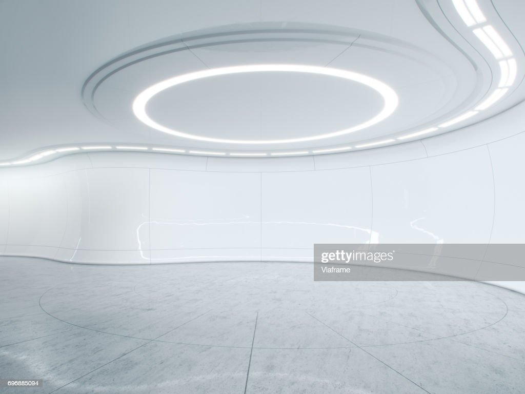 Future lab clean -Digitally created image. : Stock Photo