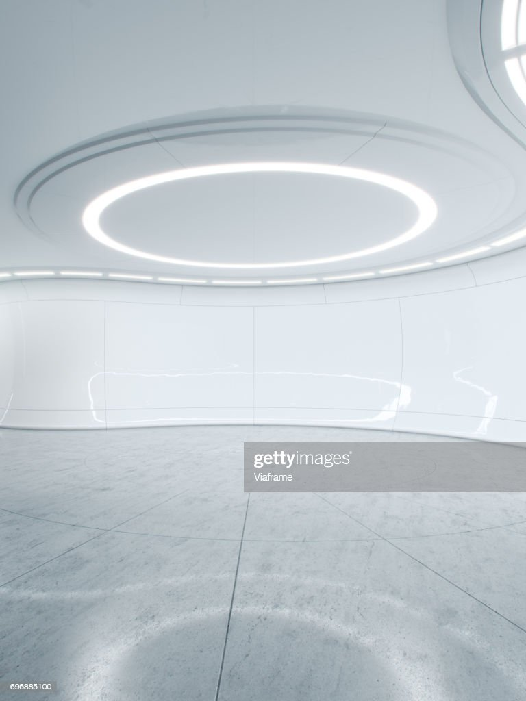 Future lab clean -Digitally created image. : ストックフォト