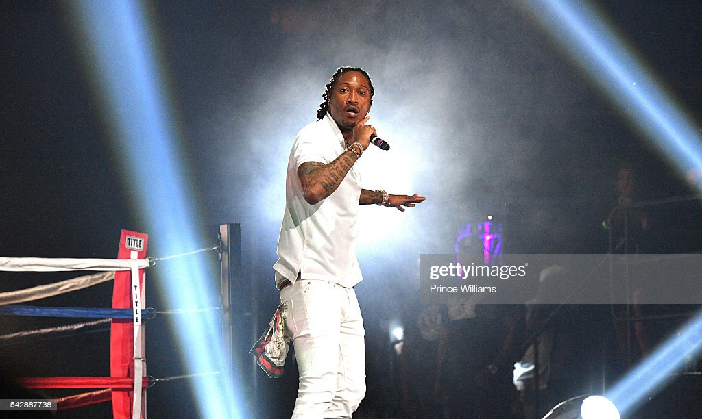 Future performing at Birthday Bash ATL The Heavyweights of HIP HOP Live in Concert at Philips Arena on June 18, 2016 in Atlanta, Georgia.