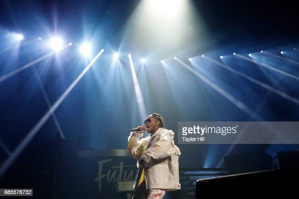 Future performs at Barclays Center on May 19 2017 in New York City