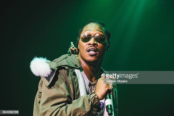 Future performs at O2 Academy Brixton on January 2 2016 in London England