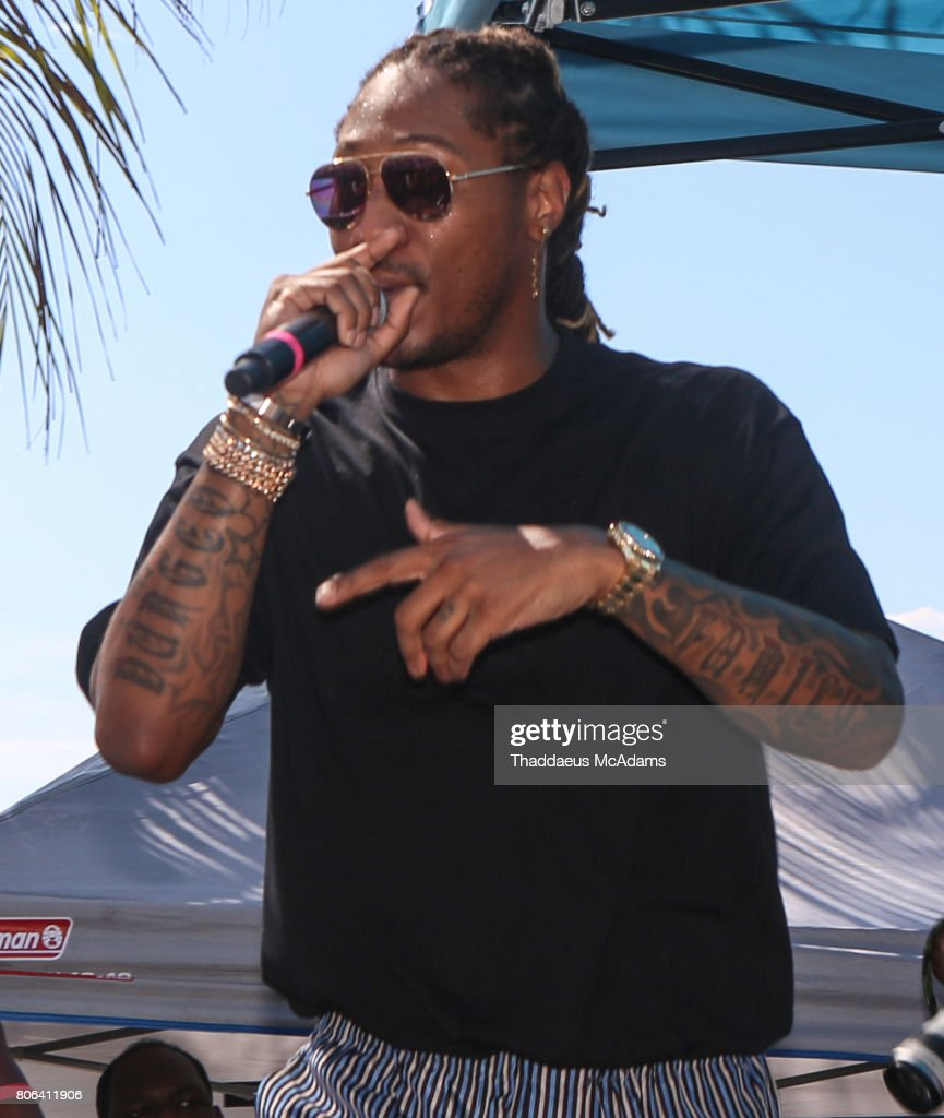 Future performs at Stirrup Cay Island as part of The Summer Fest Cruise on July 2, 2017 in At Sea, [Bahamas].