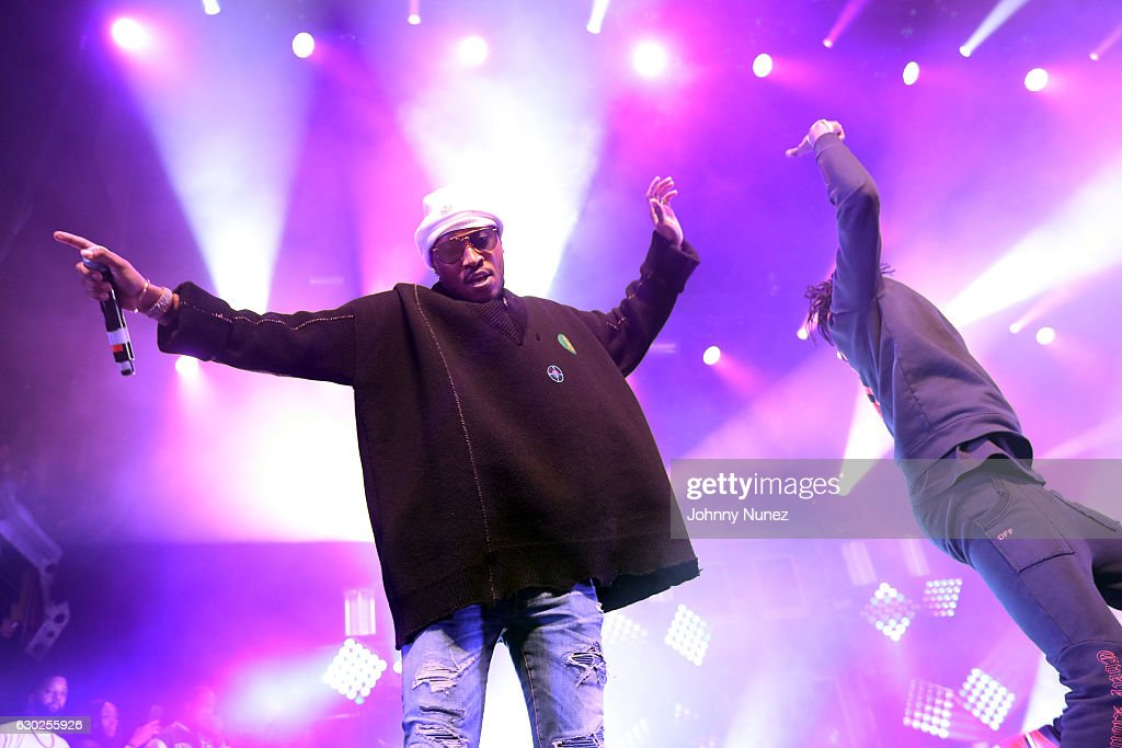 Future (L) performs at Terminal 5 on December 18, 2016 in New York City.