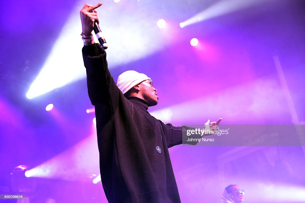 Future performs at Terminal 5 on December 18, 2016 in New York City.