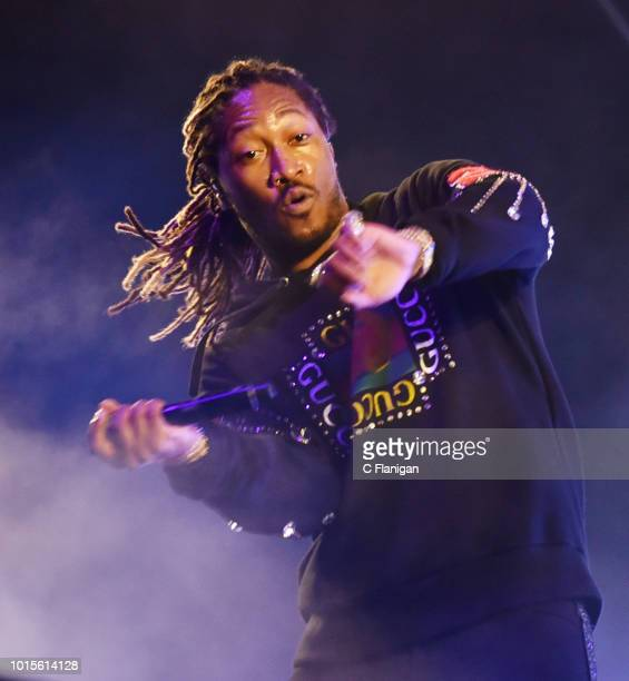 Future performs during the 2018 Outside Lands Music and Arts Festival at Golden Gate Park on August 11 2018 in San Francisco California