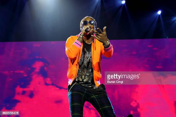 Future performs live on stage at The O2 Arena on October 23 2017 in London England