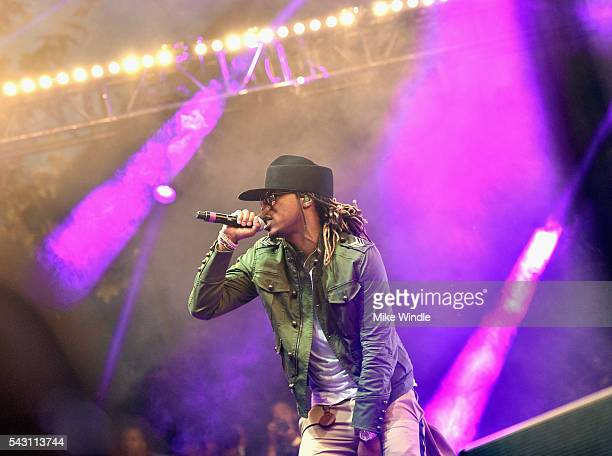 Future performs onstage at EpicFest 2016 hosted by LA Reid and Epic Records at Sony Studios on June 25 2016 in Los Angeles California