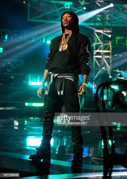 Future performs onstage at the BET Hip Hop Awards 2013 at Boisfeuillet Jones Atlanta Civic Center on September 28, 2013 in Atlanta, Georgia.