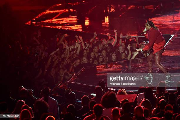 Future performs onstage during the 2016 MTV Video Music Awards at Madison Square Garden on August 28 2016 in New York City