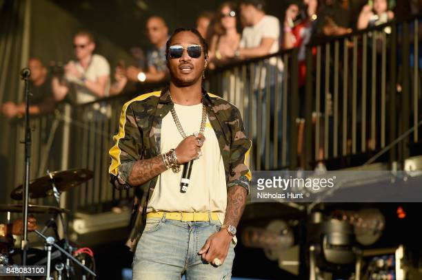 Future performs onstage during the Meadows Music and Arts Festival Day 2 at Citi Field on September 16 2017 in New York City