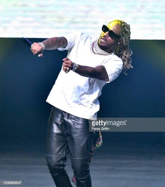 """Future performs onstage during the """"No Place Like Home"""" tour at Coca Cola Roxy on January 19, 2020 in Atlanta, Georgia."""
