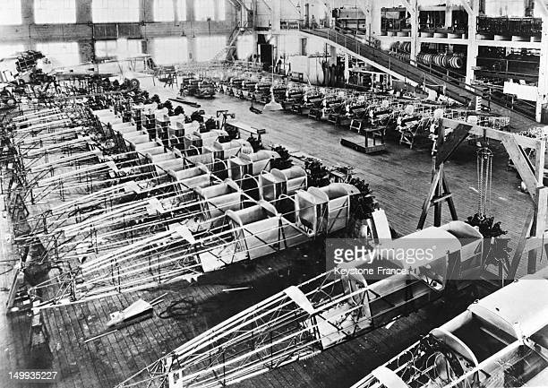 Future planes of the airmail of Chicago in 1928 in Chicago United States