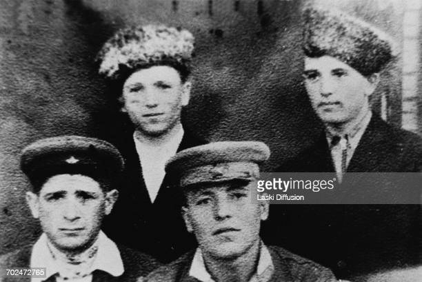 Early days of Mikhail Gorbachev future First Secretary od the Communist Party of the Soviet Union Pictured Mikhail Gorbachev with his classmates USSR...