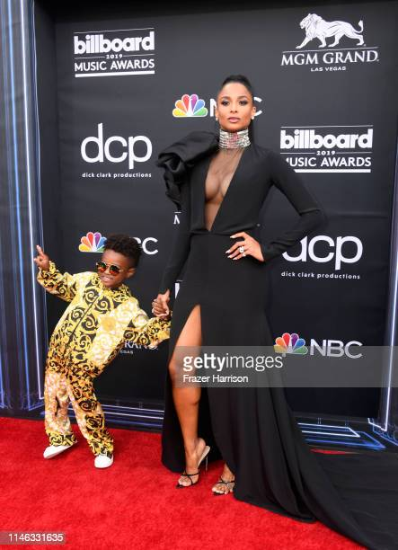Future Zahir Wilburn and Ciara attend the 2019 Billboard Music Awards at MGM Grand Garden Arena on May 01 2019 in Las Vegas Nevada