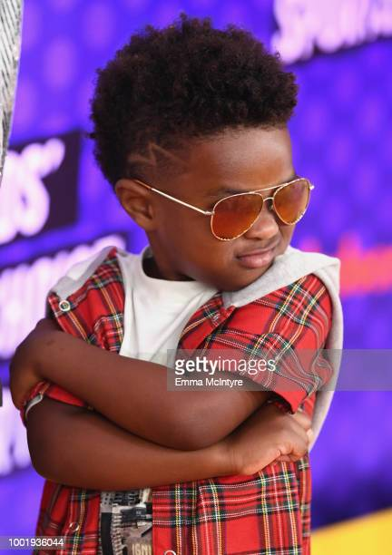 Future Zahir Wilburn attends the Nickelodeon Kids' Choice Sports 2018 at Barker Hangar on July 19 2018 in Santa Monica California