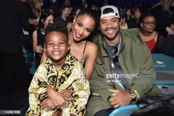 Future Zahir Wilburn Ciara and Russell Wilson attend the 2019 Billboard Music Awards at MGM Grand Garden Arena on May 1 2019 in Las Vegas Nevada
