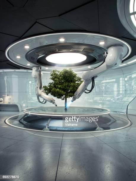 Futurelab Baum hoch