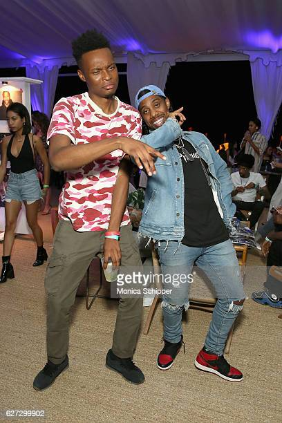 Futureproblems and Reese Laflare attend In Focus Hip Hop Through The Lens Of Photographer presented by Billboard 1800 Tequila at Up Down at Nautilus...
