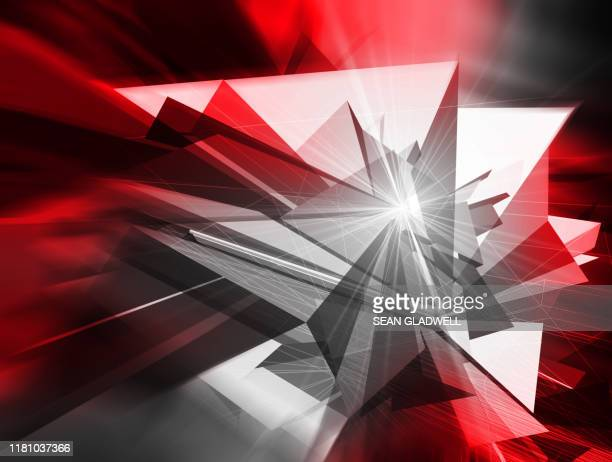 futuristic 3d speed graphic backdrop - news not politics stock pictures, royalty-free photos & images