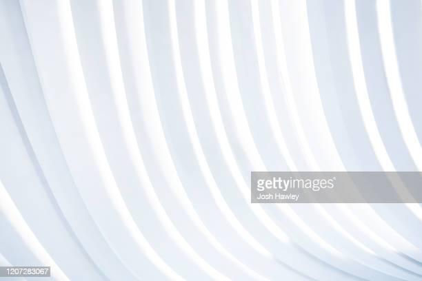 futuristic architecture background, 3d rendering - arco architettura foto e immagini stock