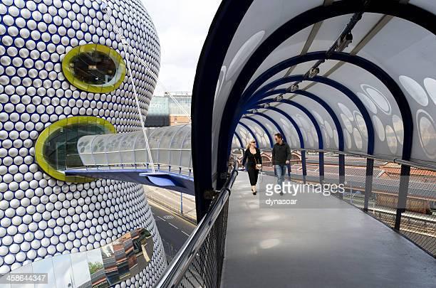 Futuristic architecture of the Selfridges building, Birmingham, England
