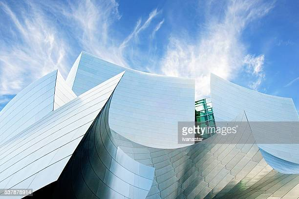 Futuristic Architecture of Walt Disney Concert Hall, Los Angeles